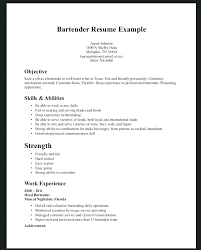 Professional Bartending Resume Sources Coloring Pages