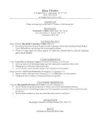 Resume Templates For Teens Mesmerizing First Resume Templates Amere