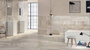 Furnishing a small house, white marble bathroom floor ceramic tile ...