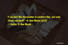 Weather Quotes Extraordinary Top 48 Quotes Sayings About Ohio Weather