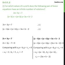 ex 3 5 2 chapter 3 class 10 pair of linear equations in two variables