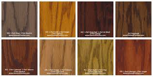 general finished pro floor stain color chart swatch