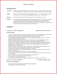 Technical Resume Templates Technical Theater Resume Template