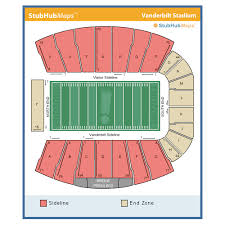 Vanderbilt Football Stadium Virtual Seating Chart Vanderbilt Stadium Nashville Event Venue Information Get