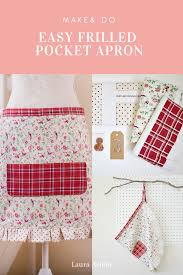 Make Your Own Apron Design Make Your Own Apron The Blog Sewing Diy Doorstop