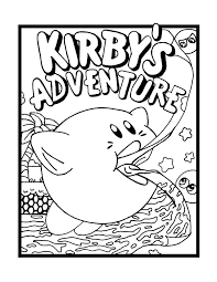 Small Picture Download Coloring Pages Kirby Coloring Pages Kirby Coloring