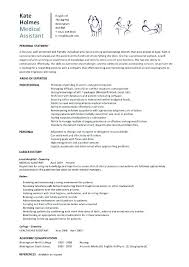 Example Of Resumes For Medical Assistants Entry Level Medical Assistant Resume Free Examples Of Resumes For