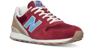 New Balance Suede Women's <b>696</b> Lakeview Casual Sneakers ...