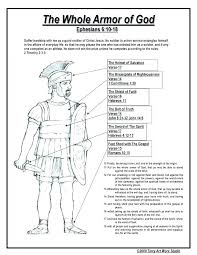 Armor Of God Coloring Pages Free Jokingartcom Armor Of God