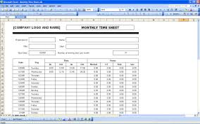 time tracking excel sheet sample time sheet