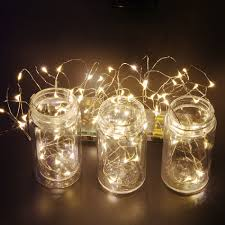 Mini String Lights Battery Operated Us 3 29 4m 40leds Fairy String Lights Lamp Battery Operated Mini Led Decorative Silver Color Copper Wire Holiday Lighting In Led String From Lights