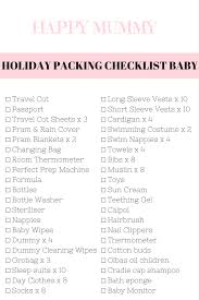 baby room checklist. Baby Travel Checklist Room