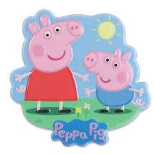Peppa Pig Plaque Cake Topper Designer Cakecupcake Topper New