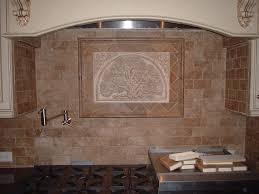 textured wallpaper backsplash