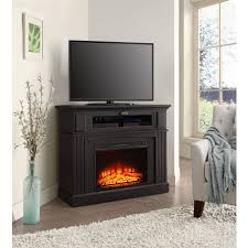 tv stands glamorous electric corner fireplace stand 2017 design