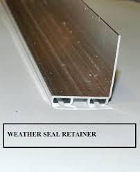 garage door rodent seal weather seal garage door weather seal retainer xcluder rodent block garage door