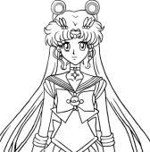Disegni Da Colorare Sui Personaggi Anime E Manga