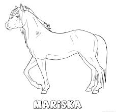 Mariska Paard Naam Kleurplaat