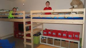 double beds for boys. Perfect For Double Twin Camp Loft Bed I Made For My Boys And Beds For Boys E