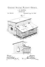 chicken coop patent 1888 patent print wall decor  on chicken coop wall art with chicken coop patent 1888 patent print wall decor raising