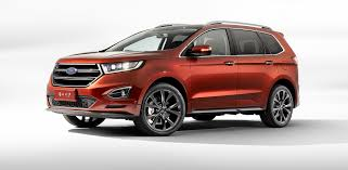 ford edge 7 seater seven seat ford edge unveiled in china photos