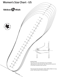 Womens Shoe Chart Us Womens Size Chart Rldm