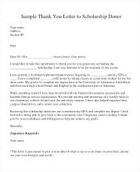 Donor Thank You Letter Sample Donation Thank You Letter Free Examples Of Letters Samples Request