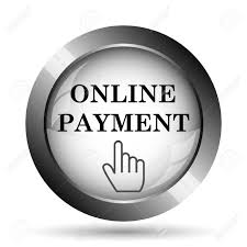 Online Payment Icon. Online Payment Website Button On White Background.  Stock Photo, Picture And Royalty Free Image. Image 66891739.
