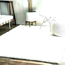 white plush area rug extra large plush area rugs rug white off fur