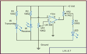 ir sensor circuit and working applications ir sensor circuit