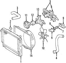Genuine lexus fan clutch lex 1621050090