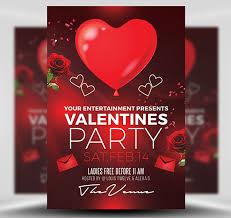 Valentines Flyers Valentines Day Flyer Template Flyerheroes