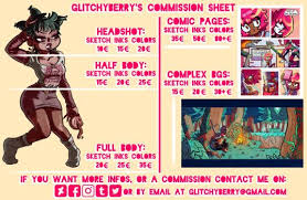commission sheet commission sheets favourites by stitchlovergirl96 on deviantart