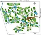 Big Oaks Golf Course - South/East - Layout Map | Wisconsin State Golf