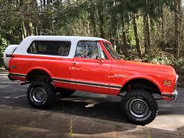 1971 K5 Blazer CST Hugger Orange   1971 K5 Blazer CST Hugger ...