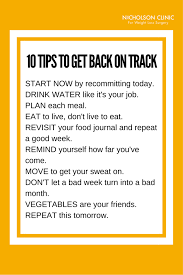 feel like you ve fallen off track with your weight loss plan here are 10 simple tips to help you get back on track weight loss surgery bariatric surgery
