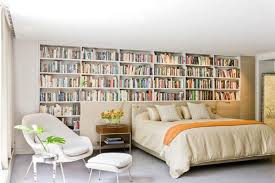 bedrooms with bookshelves 01 1 kindesign