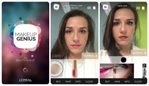 l oreal s makeup genius app excites chairman