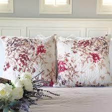 floral pillow shams.  Pillow Florence Blush Floral Pillow Shams For