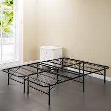 spa sensations steel smart base bed frame black multiple sizes intended for decor 6