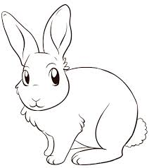 Small Picture Cute Rabbit Color Pages To Print Animal Coloring pages of