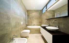 Colorful Japanese Style Bathroom Design With Large Mirrors Home Beautiful Bathrooms  Designer ...