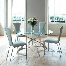 small glass dining table and 4 chairs round glass dining table set for 4 rovigo small