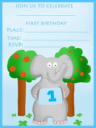 find your printable 1st birthday invitation here birthday party elephant birthday invitation