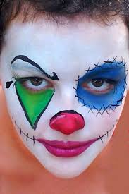 coloring pages refundable picture of clowns faces scary creepy clown face paint for halloween party