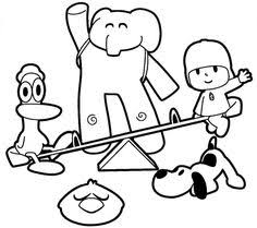 Small Picture Pocoyo coloring picture Coloring Pages Pinterest Pocoyo