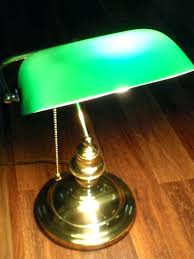 green desk lamp vintage and home decor glass banker s by with antique bankers shade l