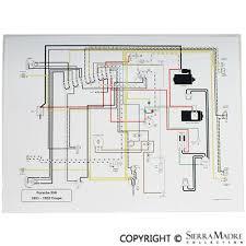 porsche parts full color wiring diagrams 50 73 full color wiring diagrams 50 73
