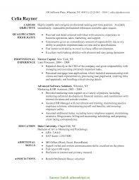 Manufacturing Job Resume
