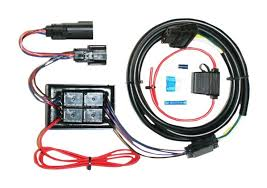 khrome werks plug & play trailer wiring harness kit for harley trailer wire harness diagram at Wiring Harness Kit For Trailer